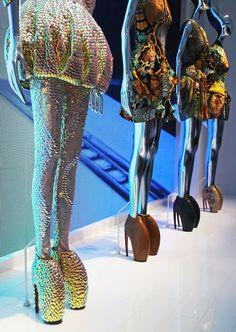 Alexander McQueen, Plato's Atlantis shoes.