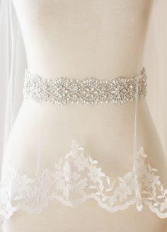 Bridal Sash - Vera