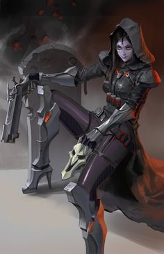 If Reaper and Widowmaker had a kid.                                                                                                                                                     Mehr
