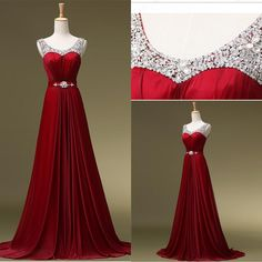 Gowns Online Cheap Under 100 2015 Burgundy Evening Dresses Sexy V Neck Backless Sequins Plus Size Party Prom Gowns Long Formal Pageant Gowns Real Sample Sexy Evening Dresses From Cc_bridal, $66.76| Dhgate.Com