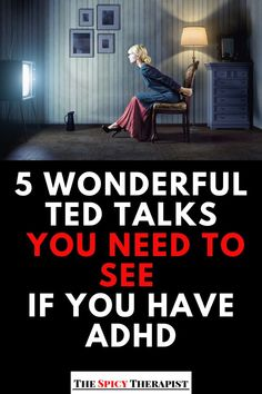 5 Wonderful Ted Talks You Need To See If You Have ADHD Hi, I'm Danielle, a marriage and family therapist with ADHD! In today's post I round up 5 of the best Ted Talks for individuals with ADHD! Adhd And Autism, Adhd Kids, Adhd Facts, Best Ted Talks, Ted Talks For Kids, Adhd Help, Adhd Brain, Adhd Strategies, Adult Adhd