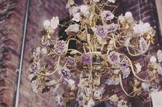 flower chandelier abc carpet home @Florence Levy
