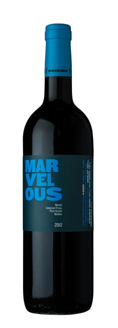 The new Marvelous Blue 2012.  MERLOT (59%),  CABERNET FRANC (20%),   PETIT VERDOT(14%)  MALBEC (7%) Wines, Red Wine, Alcoholic Drinks, Bottle, Glass, Amp, Blue, Alcoholic Beverages, Drinkware