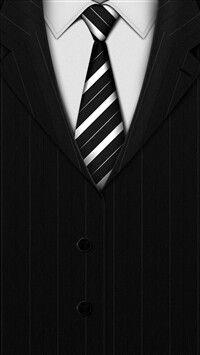 Phone wallpaper suit
