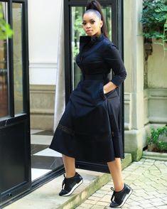Latest African Fashion Dresses, African Print Dresses, African Print Fashion, African Dress, Classy Dress, Classy Outfits, Stylish Outfits, Shweshwe Dresses, Beautiful Black Dresses