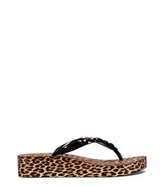 0003a0cfd38962  toryburch  shoes   Wedge Flip Flops