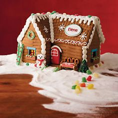 Personalized Gingerbread House - 29566 Christmas Gifts