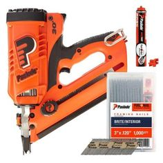 cf325 lithium ion cordless framing nailer combo with free fuel nail pack