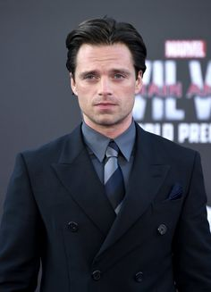 Sebastian Attends Los Angeles Premiere of 'Captain America: Civil War'  Pinterest: aloraphernelia