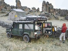 Only in a Landy!