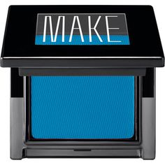 Make Matte Finish Eyeshadow- Siberian Blue found on Polyvore-FABULOUS!!!