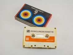 """DDR Museum - Museum: Objektdatenbank - """"Reinigungskassette"""" Copyright: DDR Museum, Berlin. Eine kommerzielle Nutzung des Bildes ist nicht erlaubt, but feel free to repin it!"""