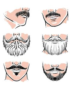 Off Sale Vector set of hipster mustache. hipster with clipping path. Moustache, Mustache Drawing, Hipster Mustache, Mustache Men, Hipster Beard, Bart Design, Bald With Beard, Beard Art, Mustache Styles