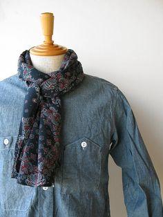 Engineered Garments S/S12 Scarf