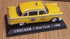 TAXI CHECKER. NEW YORK - 1980 / COL. TAXIS DEL MUNDO. NUEVO.