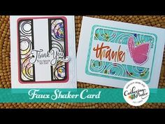Lovely Notes Stamp of Approval Preview Day 1: Faux Shaker Card – Catherine Pooler
