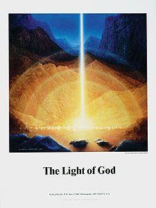 "Eckankar Online Bookstore - ""The Light of God"" Art Poster"