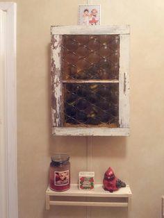 Old Barn Window to Bathroom Medicine Cabinet with Vintage Dichronic Glass New Hobbies, Bathroom Medicine Cabinet, Liquor Cabinet, Barn, Window, Glass, Vintage, Home Decor, Drinkware