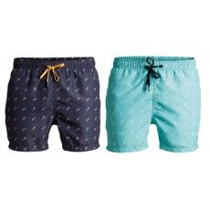 Deze Björn Borg Mid Shorts met print heeft een kortere beenlengte #zwembroek #heren #dws