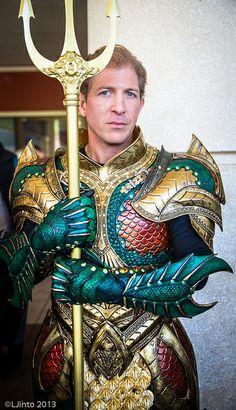 Medieval Aquaman Cosplayer: Rick Stafford Photographer: LJinto Source: LJinto via Flickr
