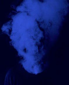 smoke blue blue grunge blue aesthetic aesthetic grunge aesthetic glow blog glow grunge blue glow vintage nostalgic nostalgia melancholy fuck feelings grunge ...