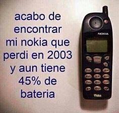 Mi Nokia  de fierro!