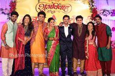 Indian Wedding Poses, Indian Wedding Theme, Indian Wedding Photography, Couple Pics, Cute Couple Pictures, Wedding Couples, Cute Couples, New Year's Eve Hair, Marathi Wedding