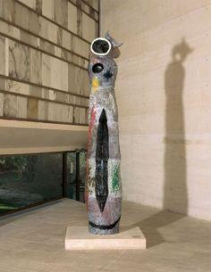 Joan Miró - Surrealism - Sculpture - Femme et oiseau