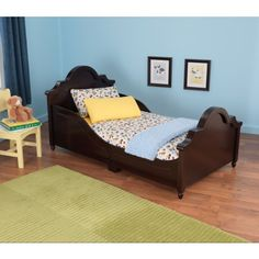 THE WELL APPOINTED HOUSE - Luxury Home Decor- Raleigh Toddler Bed in Espresso
