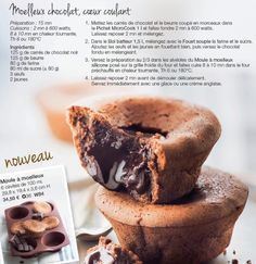Moelleux chocolat coeur coulant - TUPPERWARE