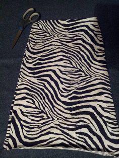 Girls zebra print maxi skirt  by tjantnesh on Etsy, $13.00