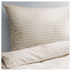NATTLJUS Quilt cover and 2 pillowcases - 150x200/50x80 cm - IKEA