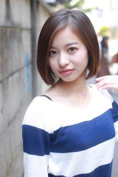 ストレートショートボブ | 吉祥寺の美容室 BiBi internationalのヘアスタイル | Rasysa(