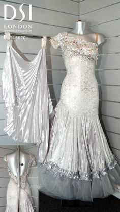 silver smooth ballroom dress - Google Search
