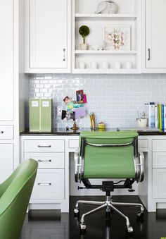 home office in kitchen. laura moss photography kitchens kitchen desk in office home a