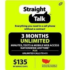 1, #Straight #Talk $135 Refill Prepaid Top-up Phone Card  2,We will send the refill PIN to you after you pay for the refill 3,please refill your phone number yours...