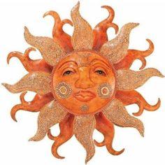 Outdoor Sun Face Wall Art by Regal Art