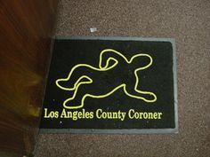 LA county coroner ~ gift shop