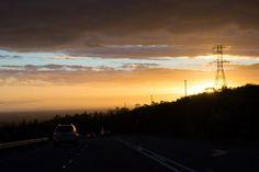 Garden Route Südafrika Routenplanung Sonnenuntergang