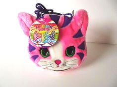 Lisa Frank Plush Purse Kitten NWT Vintage by CollectorsWarehouse