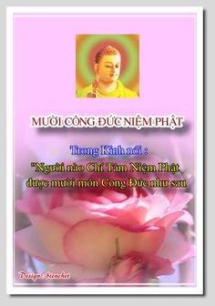 """Trong kinh nói: """"Người nào chí tâm niệm Phật, được mười món công đức như sau"""": 1.- Thường được chư Phật ngày đêm hộ niệm, Đức A-Di-Đà phóng quang nhiếp thọ."""