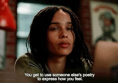 You can't double up on songs by the same artist,. Zoe Isabella Kravitz, Zoe Kravitz, Tv Show Quotes, Film Quotes, High Fidelity Quotes, Movies Showing, Movies And Tv Shows, Series Movies, Tv Series