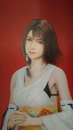 Noctis Final Fantasy, Final Fantasy Girls, Final Fantasy Characters, Fantasy Art, Yuna Cosplay, Tidus And Yuna, Female Character Design, Celebrity Travel, Beautiful Anime Girl