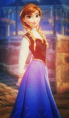 Anna #Disney #Frozen
