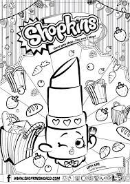 shopkins para colorear buscar con google
