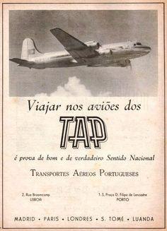 antigos cartazes da TAP - Pesquisa Google