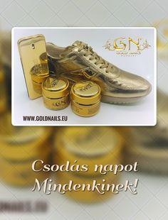 #GoldMorning #GoldNails #műköröm #jóreggelt #műkörmös #arany #műkörömalapanyagok #nailartproducts #perfume #parfüm #shoe #goldperfume #aranycipő #cipő