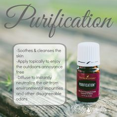 Tips for using Purification essential oil blend!