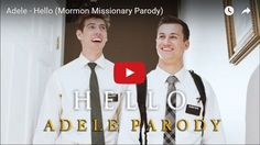 """Mormon Missionaries Sing Adele's """"Hello"""" in this Hilarious Parody  How do two 19-year-old missionaries from Provo, Utah, feel when out trying to share the gospel day after day? Well, the YouTube group Joseph & Smith, composed of Marcus Joseph and Korey Smith, seem to capture it perfectly in this missionary parody of Adele's hit song, """"Hello."""""""