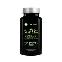 Regular™ | It Works - This life-changing, naturally based supplement is designed to aid in elimination and restore and support normal colon function naturally. Using Regular ensures daily removal of toxins and waste material and offers a gentle way to cleanse the colon.